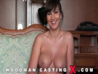 Casting of the most beautiful and perfect porn actress in the world Connie
