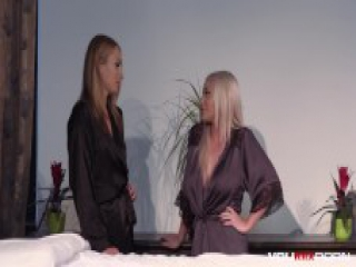 YOUMIXPORN Interactive - Extreme anal massage threesome with sweet Ivana Sugar and busty Blonde Rachele Richey