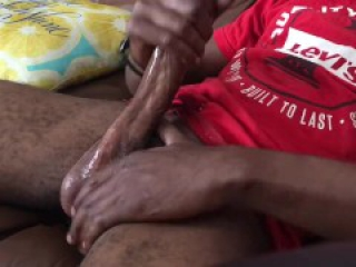 Bbc jacking off to porn