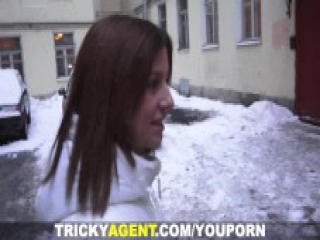 Tricky Agent - Another fresh pussy for porn